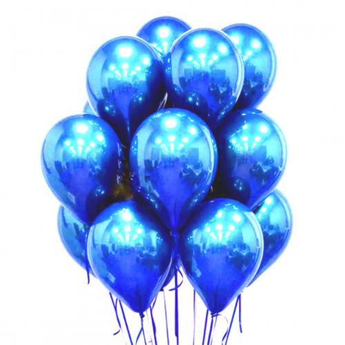 Купить шарики гелиевые хром в Москве.Мимо Дутти