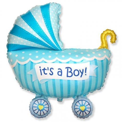 шары гелиевые на выписку мальчика