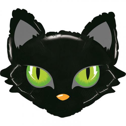 Шар фольгированный кот чёрный. Мимо Дутти, Москва