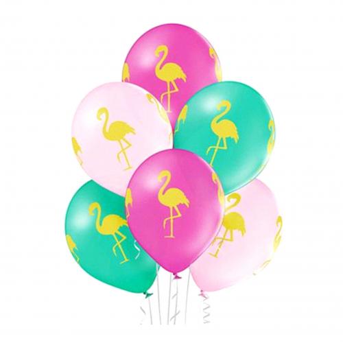 шары для девочек/девушек с фламинго. Доставка шаров круглосуточно