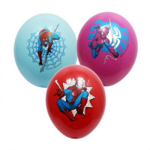 гелиевые шарики человек паук Москва