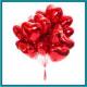 Сердца однотонные