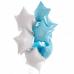 фольгированный шар звезда голубой в магазине МимоДутти