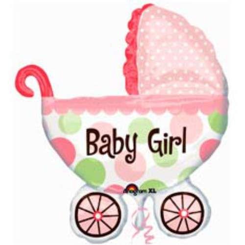 КОЛЯСКА BABY GIRL 1 шт