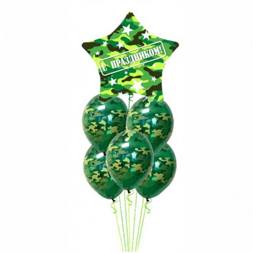 Доставка шариков на 23 февраля