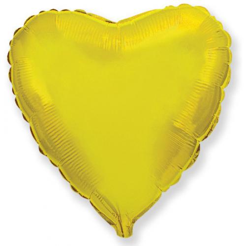 шар-сердце из фольги