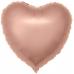 ШАР-СЕРДЦЕ 46 см Розовое золото