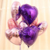 фольгированный шар сердце розовое золото в магазине МимоДутти