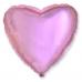 ШАР-СЕРДЦЕ 46 см Розовый пудровый