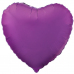 ШАР-СЕРДЦЕ 46 см Фиолетовый