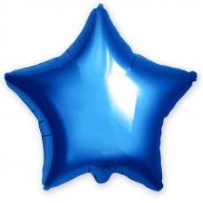 ШАР-ЗВЕЗДА 46 см Синий