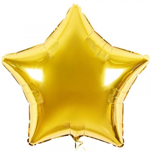 шар-звезда из фольги