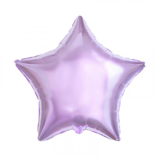 фольгированный шар звезда лилак в магазине МимоДутти