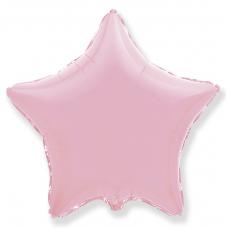 ШАР-ЗВЕЗДА 46 см Розовый пастель