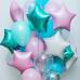 фольгированный шар звезда Тиффани в магазине МимоДутти