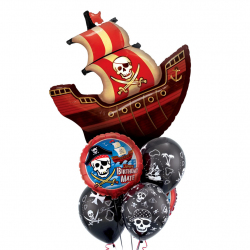 Пиратский праздник. Шары к бою!