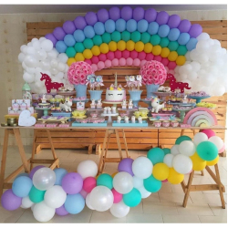 Как подобрать цвета аэродекора: каждому празднику свои шары