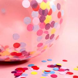 Шарики и конфетти. Созданы друг для друга